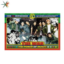 EXO The War Album Repackage vol.4 (Korean Ver.) [Poster Only]